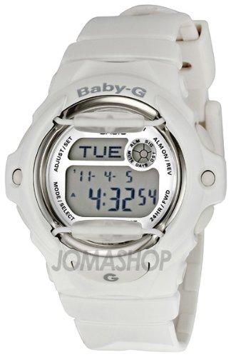 Casio Women's BG169R-7A Baby-G White Whale Digital Sport Watch