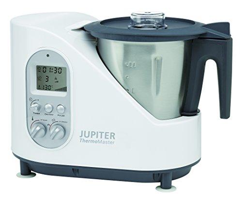 Jupiter 881001 Thermomaster mit Rezeptbuch, weiß