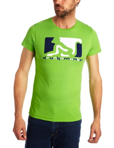 DRUNKNMUNKY OG WELD Printed Mens T-Shirt WHEATGRASS GREEN Small