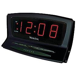 WESTCLOX 70012BK Instant-Set LED Alarm Clock electronic consumer