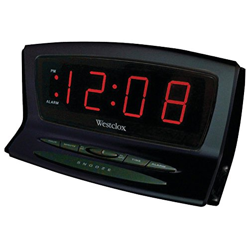 WESTCLOX 70012BK Instant-Set LED Alarm Clock electronic consumer (Corded Electric Clock compare prices)
