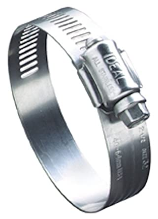 Ideal-Tridon 68 Series Stainless Steel 201/301 Worm Gear Hose Clamp, General Purpose
