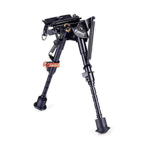 zeadio-swivel-pivot-rotatable-bipod-with-sling-mount-for-rifle-air-gun-6-9-1-year-warranty-zbp-011