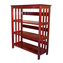 Wooden 3-Tier Bookcase