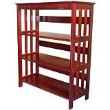 ORE International 3 Tier Bookshelves - Cherry