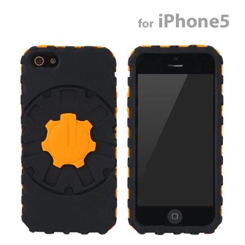 [SoftBank/au iPhone 5専用]Hummerハマー デュアルカラーシリコンケース