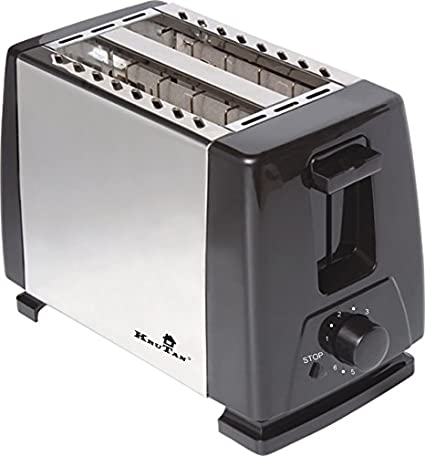 Krutan WD-200B 2 Slice Pop Up Toaster