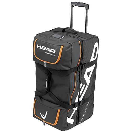 HEAD Turniertasche Tour Team Travel Bag, Schwarz, 77.5 x 40 x 42 cm, 60 Liter, 0063260189700000