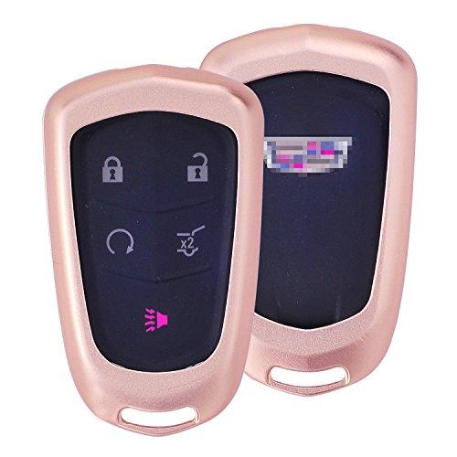 m-jvisun-telecomando-auto-keyless-entry-chiave-cover-fob-skin-per-cadillac-ats-l-ct6-xts-xt5-cts-srx