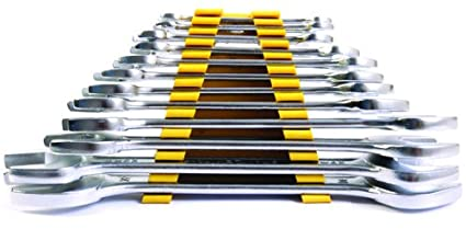 Stanley 70-380E Matte Finish Double Open End Spanner Set