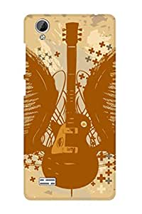 ZAPCASE PRINTED BACK COVER FOR VIVO Y31L Multicolor