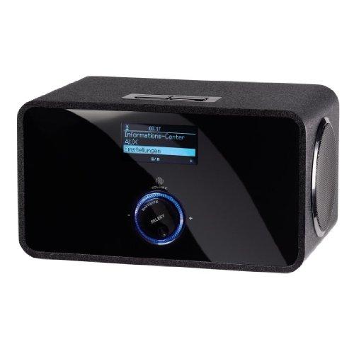 Hama IR200 Wireless LAN Internet-Radio (10 Watt) schwarz