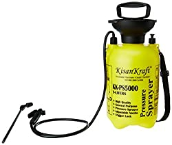 Kisan Kraft KK-PS5000 5-Litre Plastic Manual Sprayer (Yellow)
