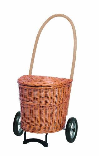 Andersen Korb Shopper Natura Einkaufsroller Trolley Creme ohne Stoff 650-2