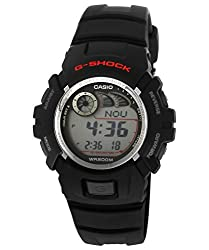 Casio G-Shock Digital Grey Dial Mens Watch - G-2900F-1VDR (G190)