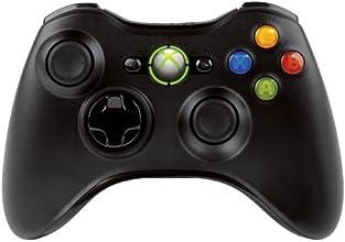 Microsoft - Mando Inálambrico, Color Negro (Xbox 360)