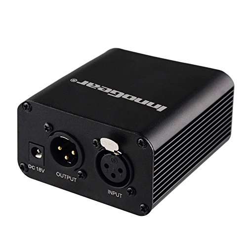 innogear-single-channel-48v-phantom-power-supply-with-adapter-for-any-condenser-microphone-music-voi