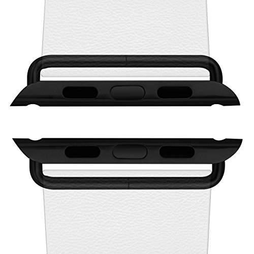 In silicone Apple Watch Band, NasaBear Colorful Replacment Bracciale da polso Band per Apple Watch 42 mm Apple Watch contenute adattatori/Sliders Connettori