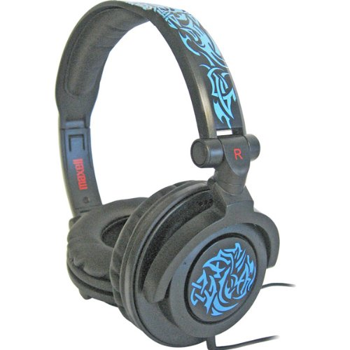 Amplified Tribal Glow Heavy Bass Headphone - Blue