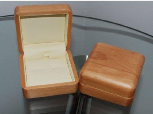 Beautiful Wooden cufflink box 8cm*8cm