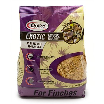 SUN EXOTIC FINCH EGGFOOD 1.1LB