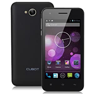 Black Unlocked Cubot GT72 4.0 inch Android 4.2 Smartphone Dual Core Mobile Phone Dual Camera GPS WiFi Capacitive Touch by Oxford Street