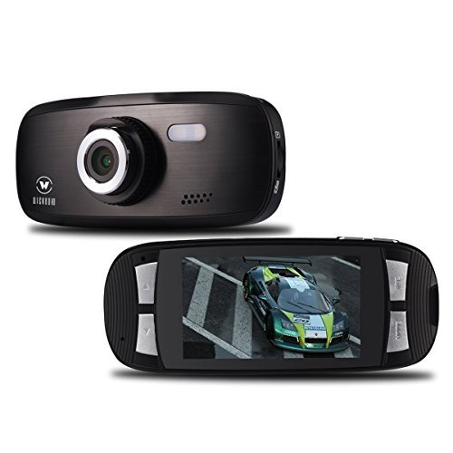 Wickedhd g1w 1080p voiture dashcam dashboard camera for Camera de voiture vision grand angle fineshot