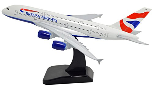 TANG DYNASTY 1/400 標準バージョン ブリティッシュ・エアウェイズ British Airways エアバス A380 高品質合金飛行機プレーン模型 おもちゃ