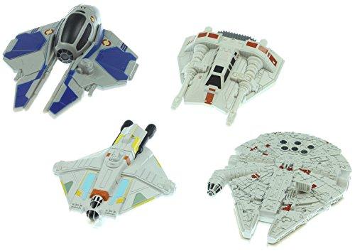 Hot Wheels Star Wars Villain Starship 4-Pack