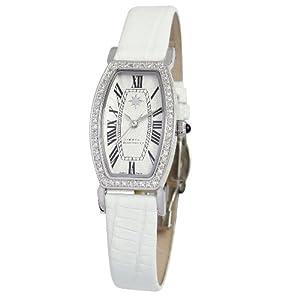 womens athena sterling silver diamond watch