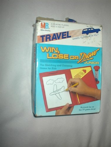 WIN, LOSE, OR DRAW Junior Travel Game by Milton Bradley - 1