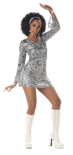 California Costumes Women's Disco Diva Costume, As Shown, Large (10-12)