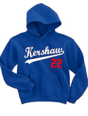 "Clayton Kershaw Los Angeles Dodgers ""Kershaw"" Hooded Sweatshirt"