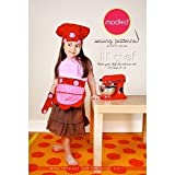 Patty Young Modkid Lil Chef Apron Oven Mitt Hat Sewing Pattern