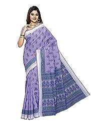 Suhanee Cotton Saree (Suhagan - 1017 _Purple)