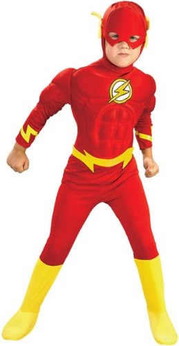 Kids Deluxe Muscle Chest Flash Costume