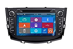 See Crusade Car DVD Player for Lifan X60 Lifan Suv 2011- Support 3g,1080p,iphone 6s/5s,external Mic,usb/sd/gps/fm/am Radio 8 Inch Hd Touch Screen Stereo Navigation System+ Reverse Car Rear Camara + Free Map Details