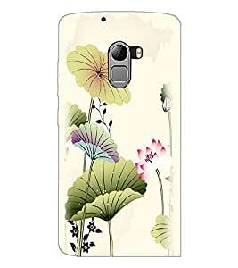 PrintDhaba Floral Design D-2026 Back Case Cover for LENOVO VIBE K4 NOTE (Multi-Coloured)