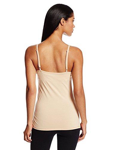 PACT Women\'s Everyday Shelf-Bra Camisole, Nude, Small ...