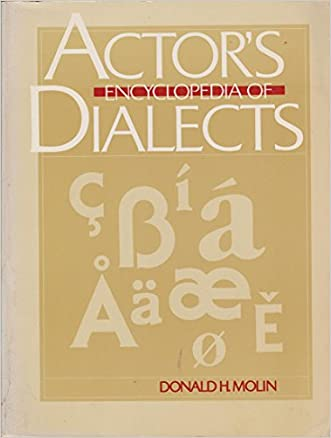 Actor's Encyclopedia of Dialects