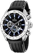 Comprar FESTINA F16489/3 - Reloj de caballero de cuarzo, correa de piel color negro
