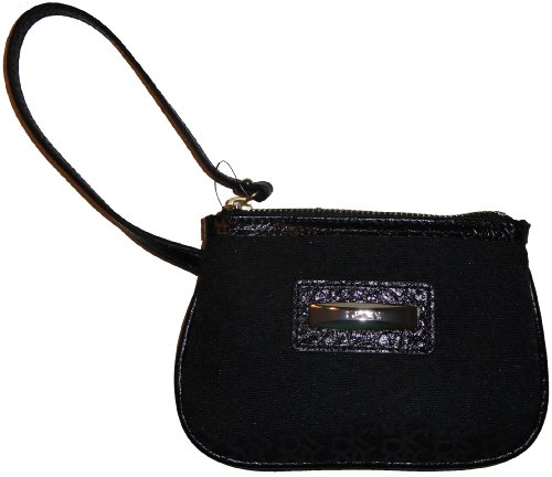 DKNY DKNY Wristlet Slgs Town and Country Classics Black/Black