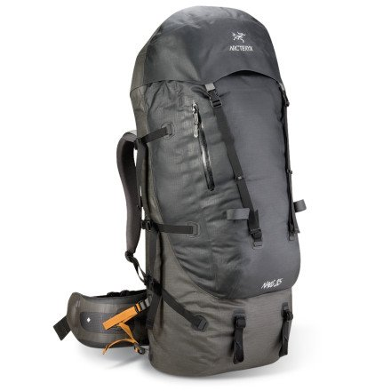 Arcteryx Naos 85 Backpack Blackbird Tall