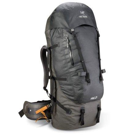 Arcteryx Naos 85 Backpack Blackbird Tall