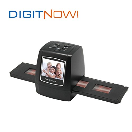 Digitnow5-Mega-Pixel-Stand-alone-FilmSlide-scanner-1800DPI-high-resolutionSupport-Various-SD-Card-includes-up-to-8GB-SDHCUSB20-interface-with-USB-Power-or-AC-Power
