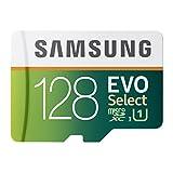 Samsung 128GB EVO Select Micro SDXC Memory Card, 80MB/s (MB-ME128DA/AM)