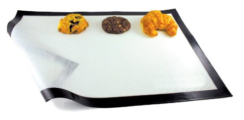 Paderno World Cuisine 24 1/2 Inch by 16 3/8 Inch Non-stick Silicone Baking Mat