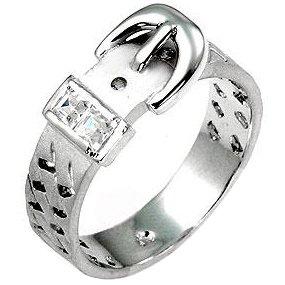 07c441488d99 ISADY – Adèle – Bague Femme – Oxyde de zirconium – Boucle de ...