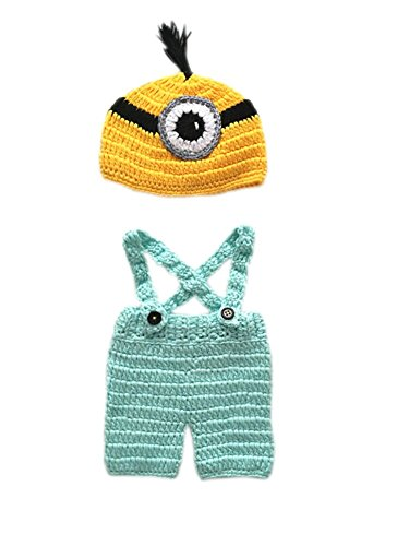 Pinbo-Baby-Photography-Prop-Crochet-Despicable-Me-Minion-Hat-Suspenders
