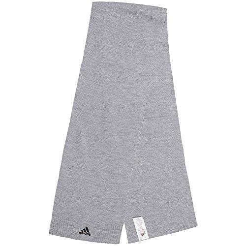 adidas Essentials Corp Sciarpa Unisex sciarpa W57448 - grigio, Taglia unica,